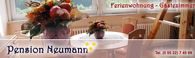 Pension Neumann Tel. (05522) 3693